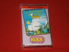 LEADERBOARD GOLF -VINTAGE COMMODORE 64/128 GAME-ACCESS/KIXX 1986-GOOD WORKING