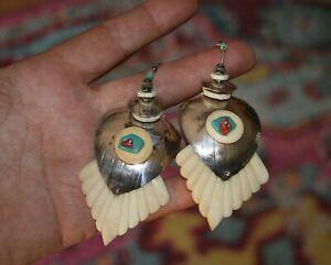 Bodacious Tabra Tribal Earrings Circa mid-1980s