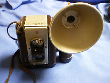 vintage Argus 75 used camera w/flash Lumar 75mm lens Dual Lens ,