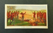 c1940 Hoadleys Trade Card Birth of a Nation #32 Eurika Stockade Australiana VGC