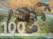 100X Beast Cards (Includes Rares!) MTG Magic -100 Card Lot Collection Deck-