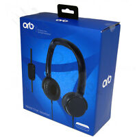 Orb Wired Chat Headset Gaming with Microphone for PlayStation 4 PS4 - Black New