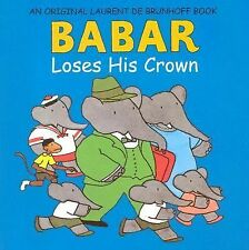 Lot of 5 Babar Loses His Crown children's book guided reading
