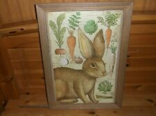 RABBIT PICTURE / WALL HANGING