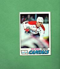1977 - 78 Topps Hockey Set RICK GREEN Card # 245