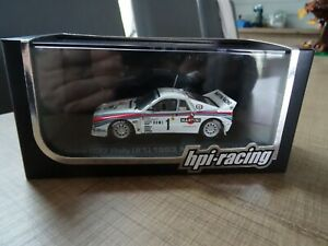HPI-RACING 1/43 LANCIA 037 RALLY (#1) W. ROHRL WINNER MONTE CARLO 1983 N° 957