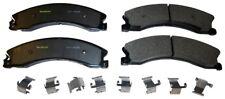 Disc Brake Pad Set-Total Solution Semi-Metallic Brake Pads Rear,Front Monroe