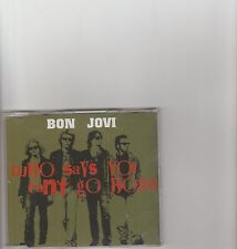 BON JOVI-Who says you can't go home UK Promo cd