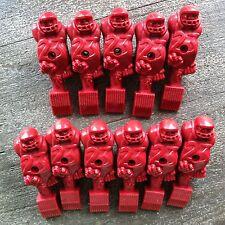 11 x Amerikanische Kickerfiguren, Juggernaut Spielfigur in Rot, NEU, Kickerfigur