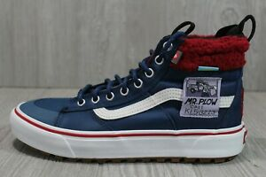 57 Rare Vans Sk8-Hi MTE Dx Simpsons Mr. Plow Skate Shoes Sizes 6.5-13