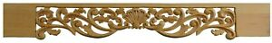 Carved Wooden Pediment Frieze Decorative Wood Moulding, Paint Grade Offer, PG463