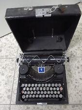 Schreibmaschine CONTINENTAL  Wanderer im Koffer Reiseschreibmaschine antik