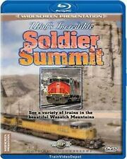 Utah's Incredible Soldier Summit BLU-RAY NEW Railway Productions Helper UP D&RGW