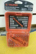 JOY-43 Multi-bit precision screwdriver set Truper