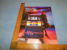 Nsm Silver Sky HyperBeam Advertising Flyer
