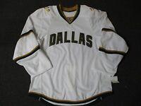 New Dallas Stars Authentic Team Issued Reebok Edge 2.0 Blank Hockey Jersey NHL