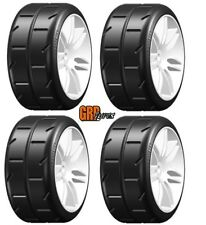 GRP GWH02-S3 W02 Revo S3 ExtraSoft Belted Mounted Tires / Wheels (4) 1/5 Car