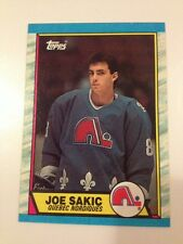 1989-90 Topps Joe Sakic RC #113 Colorado Avalanche Hall Of Famer