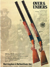 1978 H&R Harrington & Richardson 12 Ga Field Gun & Waterfowl Gun Shotgun Ad