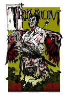 Trivium Melbourne 2007 Concert Poster Limited Edition Art Rhys Cooper