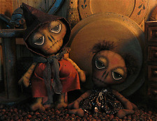 Pattern Primitive Halloween Day of the Dead Skeleton Doll Pattern Tbp