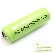 12 x 4/5AA 4/5 AA 1500mAh 1.2V NiMH Ni-MH Rechargeable Battery with Tabs Green