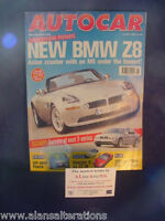 AUTOCAR Magazine 14th July 1999 BMW Z8