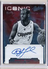 2012/13 PANINI ABSOLUTE CHRIS PAUL ICONIC AUTO 05/25
