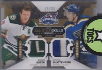 Suter/Shattenkirk 2015-16 SP Game Used All Star Fabrics Dual Patch 13/35