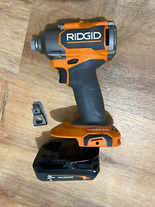 New Ridgid MAX OUTPUT R862311 18v compact Impact Driver +2.0 battery (OPENBOX)