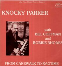 PARKER knocky, Bill Coffman, from CAKEWALK to Ragtime, US LP