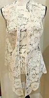 Chico's Lace Floral Vest
