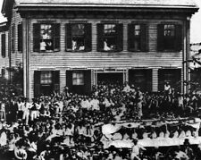 New 8x10 Photo: Republican Rally at Abraham Lincoln Home in Springfield, IL