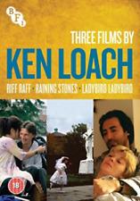 Ken Loach Collection Riff Raff Raining Stones Ladybird Ladybird Movies DVD NEW