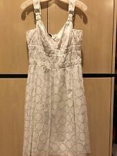 Laurel jeans Kleid Dress size 38 size 8 US NWT NEW white party