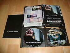 EL SEGUNDO NOMBRE EN DVD DEL DIRECTOR PACO PLAZA CON 2 DISCOS + LIBRETO