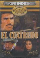 SEALED - El Cuatrero DVD Vicente Fernandez Coleccion - BRAND NEW