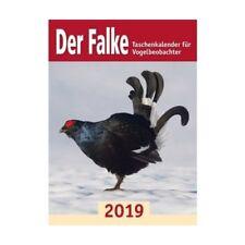 Der Falke, Taschenkalender für Vogelbeobachter 2019  Kalender