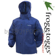 FROGG TOGGS RAIN GEAR-PA63123-12 BLUE PRO ACTION MENS JACKET-FISHING GOLF HIKING