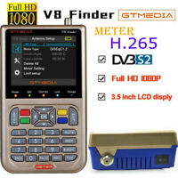 "GTMedia Satfinder DVB-S/S2X FTA Digital Satellite Finder Meter 3.5""LCD V8 Finder"