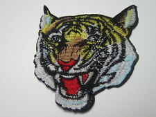 1pcs tiger Embroidered Iron on Sew on Patches badge Clothing Jeans Hat sticker
