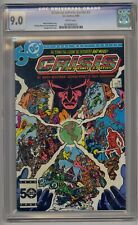 CRISIS ON INFINITE EARTHS #3 CGC 9.0 WHITE PAGES