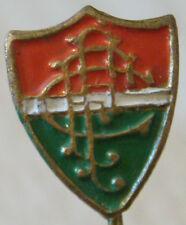 FLUMINENSE FC Vintage 1960s 70s Club crest badge Stick pin Gilt 10mm x 12mm