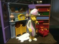 The Simpsons Burns Manor PJ Mr. Burns WOS Interactive Environment Playmates NEW