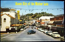 SONORA CA ~ 1960's Downtown ~ Queen City of the Mother Lode ~ Sonora Inn