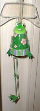 New listing New Frog Ceramic Wind Chime Style Hanging Garden Porch Decoration Decor #1