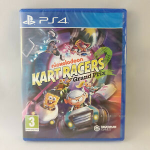 Sony Playstation 4 PS4 - Nickelodeon Kart Racers 2 Grand Prix NEW SEALED