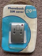 Phonebook SIM Saver