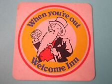 BEER COASTER ~ CALDONIAN Brewery Cavalier McEwan's Lager ~ Younger Welcome Inn!