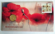 2016 $1 11/11/11 REMEMBRANCE DAY SPECIAL LIMITED EDITION OVERPRINT PNC